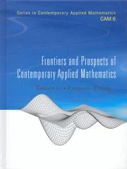 Frontiers and Prospects of Contemporary
