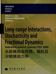 Long-range Interactions, Stochasticity
